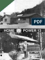 Home Power Magazine - Issue 013 - 1989-10-11.pdf