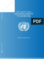 United Nations Disarmament Yearbook Vol 36 (Part 2) - 2011