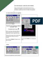Manual Del Programa Camtasia Recorder