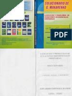 Solucionario de B. Makarenko - Ejercicios y Problemas de Ecuaciones Diferenciales Ordinarias - FL