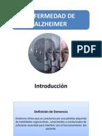 Enfermedad de Alzheimer (Presentación)