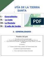 GEOGRAFÍA DE LA TIERRA SANTA