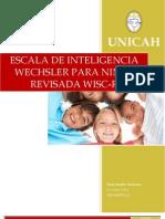 La escala de inteligencia para niños