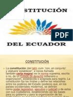 Constituciones del ecuador.pptx