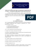Edital ConDCE CAEC