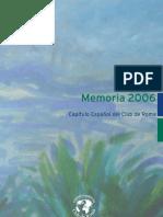 Club de Roma Memoria 2006