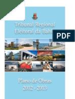 Plano de Obras 2012-2013