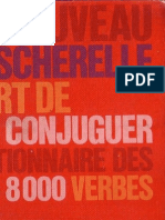Bescherelle LArt de Conjuguer Dictionnaire Des 8000 Verbes