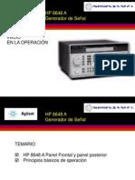HP 8648 A SIGNAL GEN