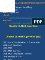 Hash Algorithms
