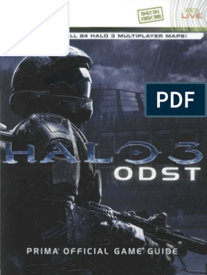 Halo 3 Odst Prima Official Guide Pdf Factions Of Halo Rifle