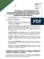 114 Régimen aplicable a los Familiares de trabajadores por cuenta ajena rumanos  DEFINITIVA (2)