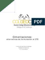 CIMENTACIONES_ ALTERNATIVAS DE FORMULACIÓN AL CTE