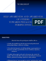 Self-Awareness and Awareness of Others(1)