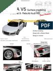 CATIA CAR DESIGN(AUDI R8)