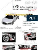 CATIA CAR DESIGN(AUDI R8)
