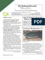 RHS Newsletter 06 2005