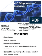 DNA Diagnosis of Genetic Diseases