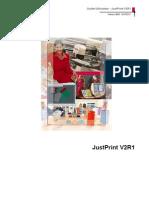 Guide Utilisateur JustPrintv2r1 521372CF Fr