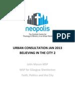 Faith, Politics & the City (John Mason)