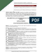 REGLAMENTO de la Ley de Protección Civil para el Distrito Federal