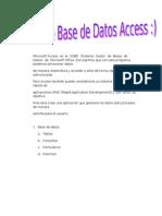 Recopilacion de Archivos Access