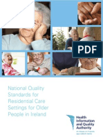 HIQA Residential Care Standards 2008