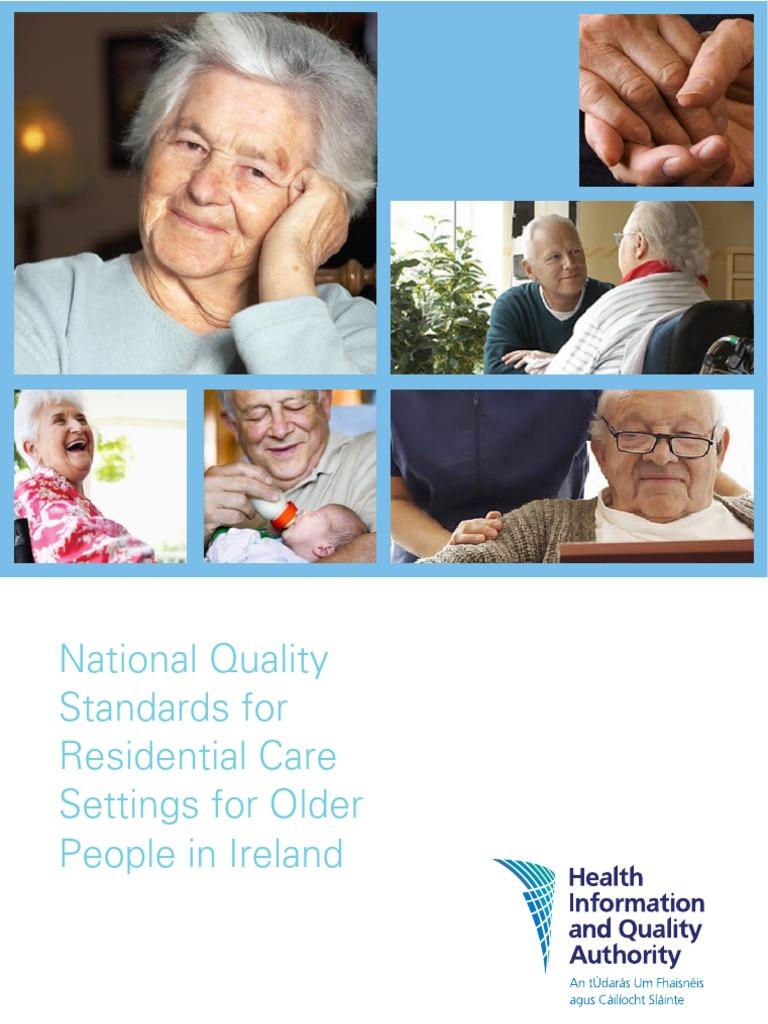 hiqa residential care standards 2008 | pharmaceutical drug