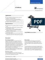 Catalog Hydraulic Pressure Balance Cpb5800