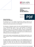 Unterschriftenaktion des LVH für die heimsichen Betriebe und zur Sicherung der Arbeitsplätze