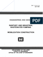 SANITARY AND INDUSTRIAL WASTEWATER PUMPING