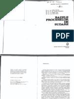 Bazele Proceselor de sudare - V.Miclosi