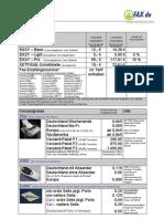 Fax.de Preisliste