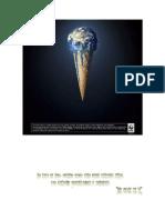 Calentamiento Global Fondo Blanco