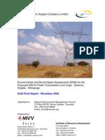 Final ESIA Report November 2009