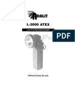 Linterna Adaro L-2000 Atex