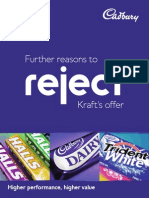 Cadbury Reason to Reject Kraft's Offer
