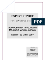 Dix Report - Burnley Tunnel Incident 2007