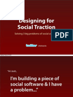 Designing For Social Traction