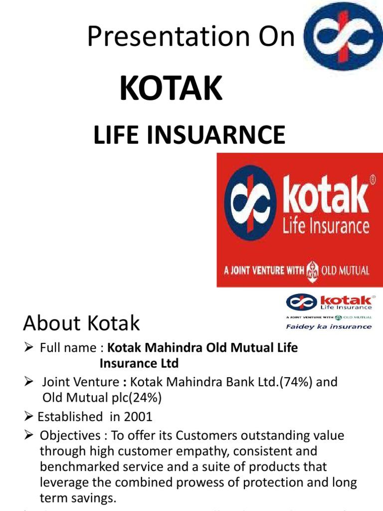 Kotak Life Insurance | Life Insurance | Insurance