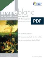 Livre Blanc Sur La Souffrance Au Travail Des Fonctionnaires Et Des Agents Publics