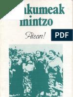 Emakumeak Mintzo. Aizan. Elkar 1983