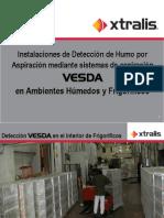 Frio_humedad Deteccion Incendio en Frigorifico