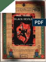 Are There Black Devils-Dr Malachi Z York
