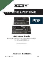 POD HD400 Guide
