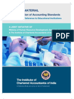 TRANING MATERIAL ON IMPLEMENTATION OF ACCOUNTING STANDARDS