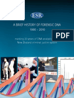 A brief history of forensic DNA