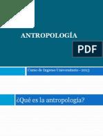 Antropologia Como Campo de Saber