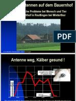 Dokumentation Kälberblindheit Mobilfunk