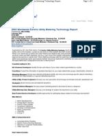 Utility meter summary